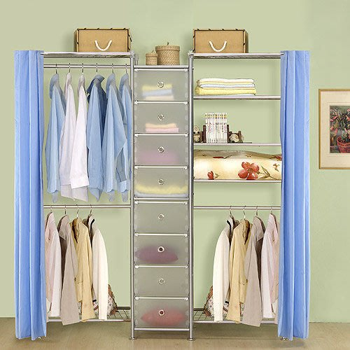【中華批發網DIY家具】D-62A-12-W2型60+pp+W5型60衣櫥置物櫃-(前罩)不織布