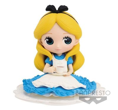 景品 Q POSKET 迪士尼 公主系列 代理 正常色 艾莉絲 愛麗絲 下午茶