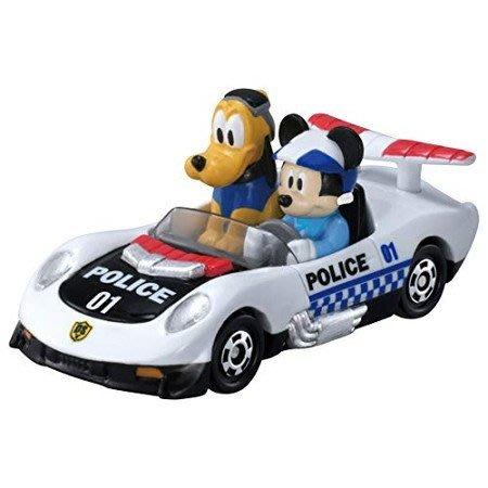 =海神坊=日本原裝空運 TAKARA TOMY 多美小汽車 迪士尼 DS-01 米奇妙妙保衛隊 米奇+布魯托 合金模型車