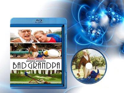 【藍光電影】蠢蛋搞怪秀4:壞祖父 蠢蛋搞怪秀4/Bad Grandpa (2013)  36-043