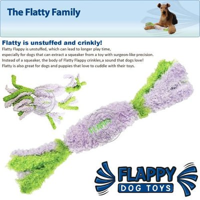 【🐱🐶培菓寵物48H出貨🐰🐹】美國FLAPPY《FLATTY 香酥蔬菜捲L》柔軟捲曲棉線玩具 特價280元