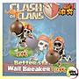 部落戰爭clash of clans部落衝突 野蠻人 站立1代炸彈人 遊戲週邊電玩角色 PVC盒裝160102