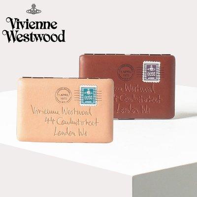 vivienne westwood 土星 名片夾 信用卡夾 證件夾 皮革 牛皮 日本代購