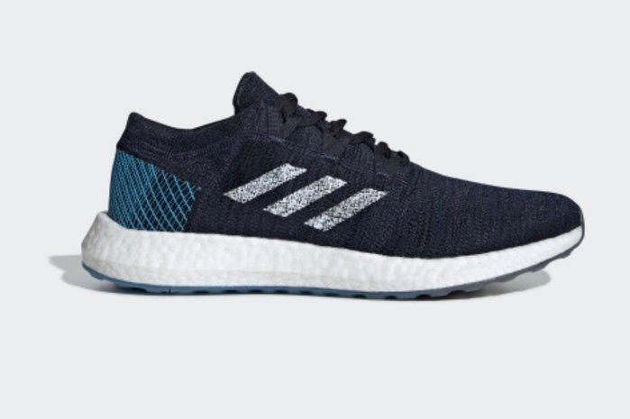 玉米潮流本舖 ADIDAS  PUREBOOST GO 男款 EE4675 藍色 編織 慢跑鞋