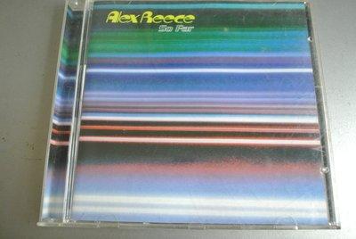 CD ~ Alex Reece  SO FAR 亞歷斯 雷斯 舞曲 ~ 1996 ISLAND BRCD-621
