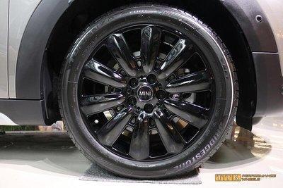 【台灣輪胎王】MINI F56專用 16吋 鋁圈樣式 5X112 6.5J ET54 中心孔66.5 亮黑
