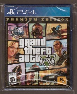 全新PS4 原版片 美版中文  GTA5 俠盜獵車手5 豪華版 完整版