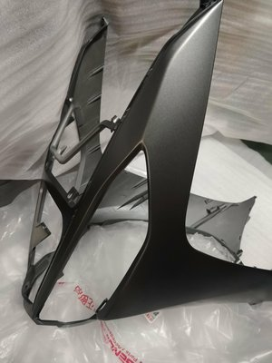 YAMAHA 山葉 原廠 勁豪 擋泥蓋護片 下導流 面板下段 前柄(深灰灰款 )車殼 面板