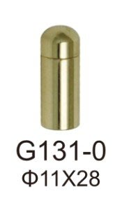G131-0(11mm x 28mm) 壓克力海報夾配件/銅鏡珠/化妝螺絲/美化螺絲/廣告螺絲/銅扣