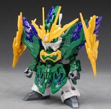 外F : 模型 GUNDAM SD 鋼彈 三國創傑傳 14 張郃 雙頭龍鋼彈 天富玩具店