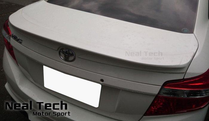 全新含烤漆 Toyota Vios 2代 Carmax 車美仕款 3D 尾翼 改裝 壓尾 鴨尾 14 15 16 17年