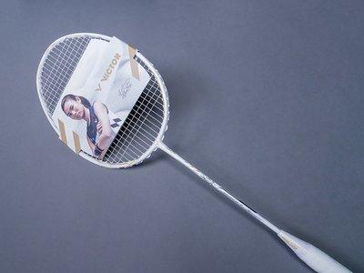 【綠色大地】VICTOR 羽球拍 突擊 TK-F C LTD A 戴資穎簽名拍 碳纖維 羽毛球拍 羽拍 羽球