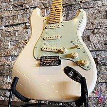 分期免運 贈原廠琴袋 Fender DELUXE ROADHOUSE Strat 墨廠 電 吉他 楓木指板 奧林匹克 白