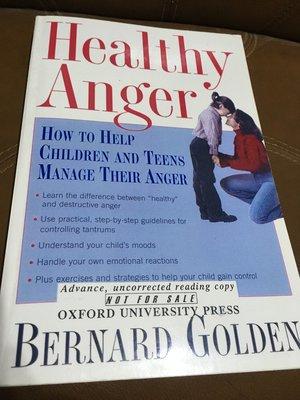 心理/特教原文書 Healthy Anger 幫助兒童 青少年 處理憤怒情緒