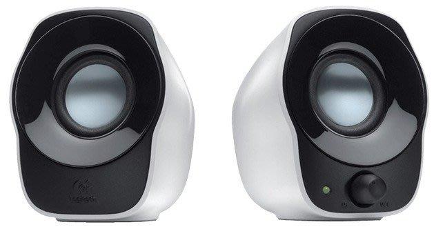 【鳥鵬電腦】Logitech 羅技 Z120 立體聲音箱 USB供電 3.5 mm音訊輸入 線路收納設計