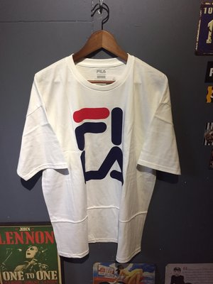 FILA over la tee WHITE 現貨+預購