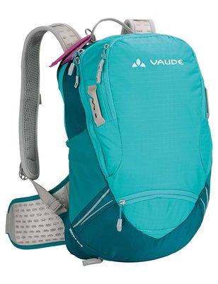 美國代購 VAUDE Roomy 17+3L 登山背包 多功能運動背包 女款 黑色 藍色