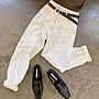 九分褲 (YCH312) 真心推薦款:超好穿彈性超好高腰寬鬆九分褲 老爹褲 哈倫褲 S-XL