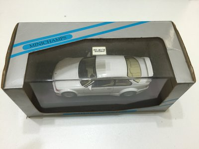 Mimichamps BMW E36 M3 GTR WHITE
