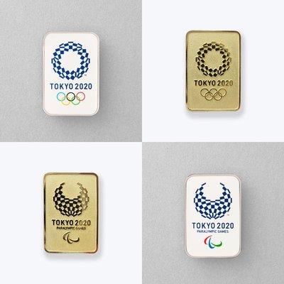 迷俱樂部|2020東京奧運 會徽LOGO 吉祥物 徽章 [TOKYO 2020] 奧運帕運 日本官方商店周邊商品紀念品