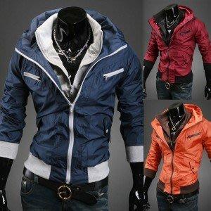 yes99buy加盟-2014秋冬新品男款外套 戶外男士休閒撞色拼夾克 韓味男式休閒夾克