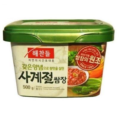 *韓聚*韓國 CJ 包飯醬 500g 蔬菜包肉黃豆瓣醬~包烤肉吃超棒