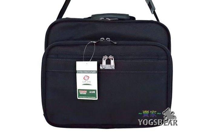 【YOGSBEAR】台灣製造 YESON 兩用 手提袋 側背包 公事包 筆電包 電腦包 工具袋 書包 86001