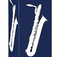 ♪ 后里薩克斯風玩家館 ♫『法國 VANDOREN藍盒竹片』/ 上低音SAX用