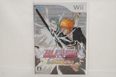 日版 Wii BLEACH 白刃閃耀圓舞曲