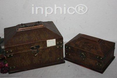 INPHIC-仿舊家居裝飾擺設 特色木質古董箱 手提箱套2