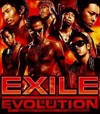 日版初回限定已絕版 --- EXILE ( 放浪兄弟 )  ~ EVOLUTION EXILE  ( CD+2DVD )