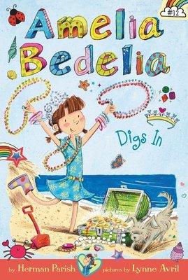 *小貝比的家*AMELIA BEDELIA CHAPTER BOOK #12:DIGS IN/平裝7~12歲