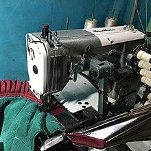 工業縫紉機 日本製KS折景包邊車 被單丶毛毯包邊 *禮堂布景,可改飾品双折邊