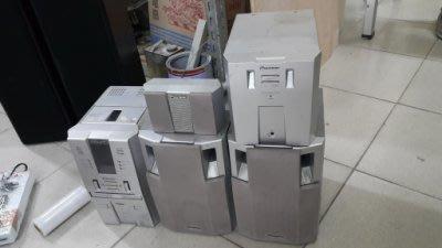 樂居二手家具*D1117-3 組合音響(5件組)*MP3音響 喇叭 床頭音響 多媒體音響 二手家電買賣/液晶電視/冷氣
