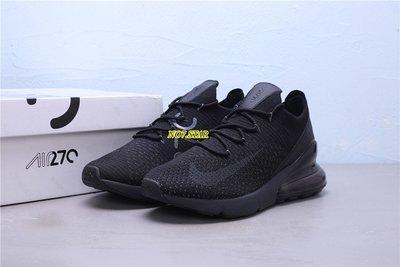 NIKE AIR MAX 270 FLYKNIT 針織 全黑 黑魂 反光 氣墊 休閒 男鞋 AO1023-005