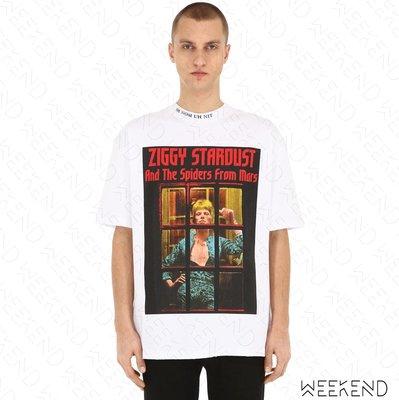 【WEEKEND】 IH NOM UH NIT Ziggy Stardust 男女同款 短袖上衣 T恤 白色 19春夏
