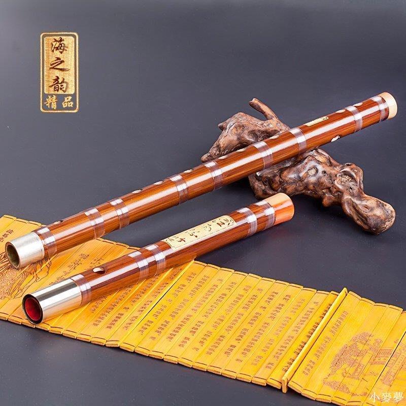 小麥夢 笛子初學者大人兒童寶寶笛子初學樂器竹笛子雙插笛樂器笛子學生A296U