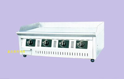 鑫忠廚房設備-餐飲設備:桌上型電子點火美式煎板爐84*60 賣場有烤箱-冰箱-咖啡機-水槽-工作檯