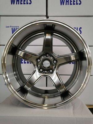 全新18寸深唇鋁圈 work rays rotiform bbs 5-120 5-114.3 5-112 BMW BENZ 日系車 海拉風 爆龜