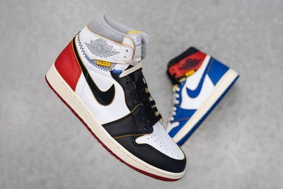 [US14 32cm] Jordan 1 Retro High Union LA Black Toe 限量黑頭