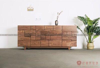 [紅蘋果傢俱]MJ007 北歐 日式 實木傢俱 多斗櫃 抽屜櫃 餐邊櫃 客廳 臥室 儲物 收納櫃