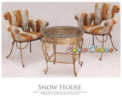 ╭☆雪之屋居家生活館☆╯A842-1@特惠組合@叢林貴族休閒桌椅組*一桌二椅-分開買原價9500