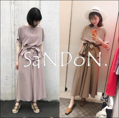 SaNDoN x『MILA OWEN』各一件 綁帶日式風格兩件式寬褲 SLY SNIDEL 190704
