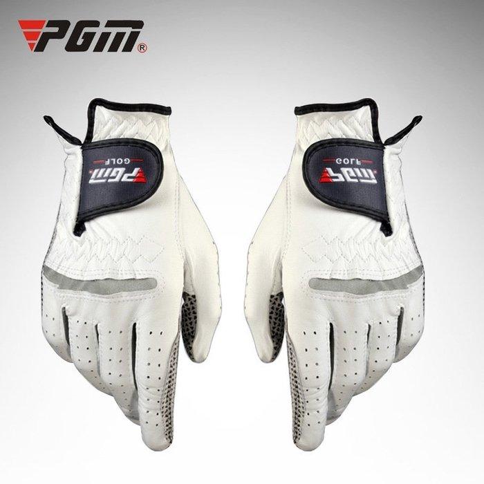 進口小羊皮golf高爾夫球手套  男士真皮手套 單隻 透氣防滑手套ST001
