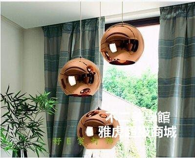 TomDixon電鍍玻璃球吊燈 餐廳酒店吧臺KTV圓球吊燈Lc_721