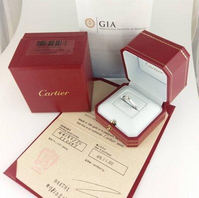 (可缐上無息分期刷卡) Cartier 卡地亞 Ballerine系列0.24克拉 D/VS1