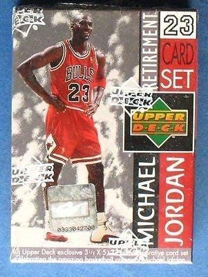 Upper Deck Michael Jordan 退休卡