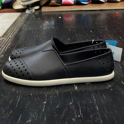 native VERONA JIFFY BLACK 黑色 基本款 膠鞋 洞洞鞋 膠鞋 懶人鞋