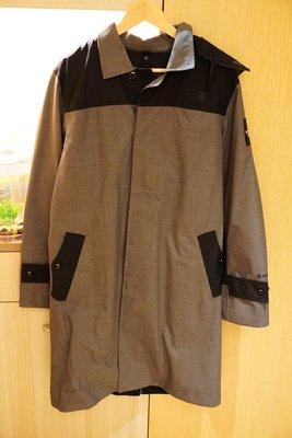 The North Face UE Gore-Tex Wool N2 Raincoat 黑標 防水 大衣 淺灰 L號