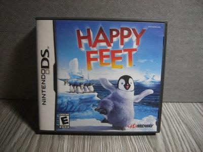 二手 NDSL NDSi 3DS NDS游戲卡 HAPPY FEET 快樂腳  遊戲 卡帶
